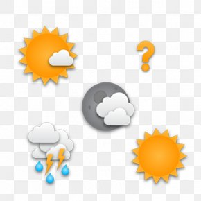 Weather Icon Design - Weather Application Software Android Icon PNG