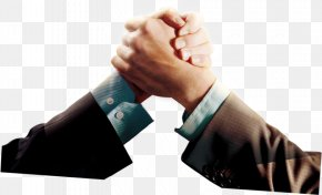 Beautiful Beautifully Hand Arm Wrestling - Company Business Handshake PNG