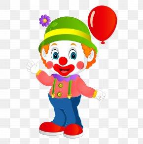 Cartoon Clown - Clown Cartoon Clip Art PNG
