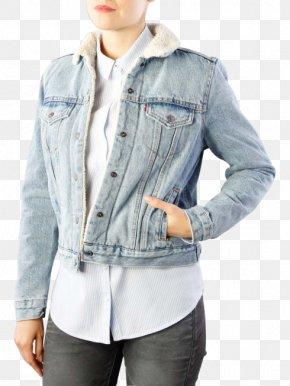 Jacket Levis - Jeans Denim Textile Outerwear Jacket PNG