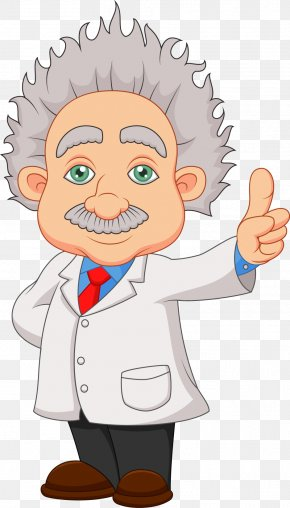 Scientists Elderly - Cartoon Scientist Stock Illustration Clip Art PNG