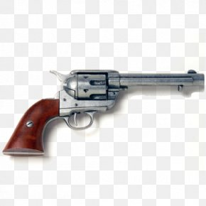 Weapon - American Frontier Western United States Revolver Colt Single Action Army Fast Draw PNG