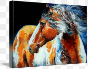 United States - American Paint Horse American Indian Wars United States Pony Painting PNG