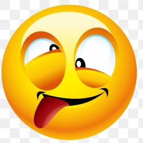 The Head Of The Tongue - Emoticon Smiley Emoji Icon PNG