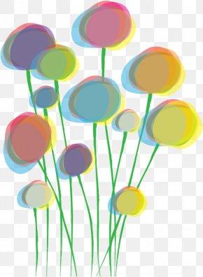 Vector Bouquet Color Glow - Poppy Clip Art PNG