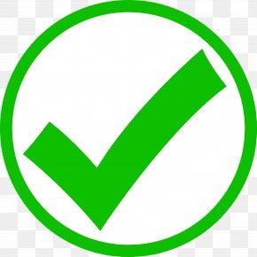 Green Tick Mark - Check Mark Tick Clip Art PNG