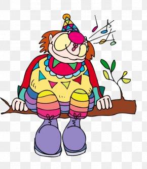 Cartoon Clown - Joker Clown Circus Clip Art PNG