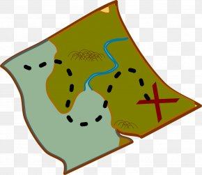 Route Map - World Map Treasure Map Clip Art PNG