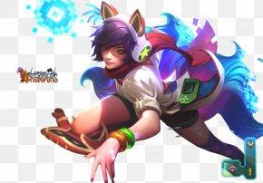 League Of Legends - League Of Legends Ahri Arcade Game Riot Games Amusement Arcade PNG