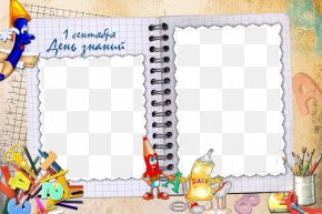 Creative Notebook - Picture Frame School Photography PNG