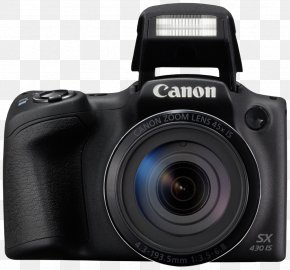 Camera - Canon PowerShot SX410 IS Point-and-shoot Camera Megapixel PNG