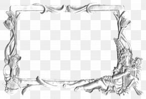 Silver Metal Frame - Silver Picture Frame Metal PNG