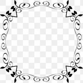 Borders And Frames Floral Design Drawing Clip Art PNG