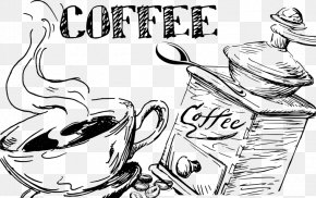 Coffee - Coffee Cafe Espresso Latte Art Take-out PNG