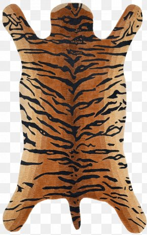Rug - Big Cat Tiger Mammal Carnivora PNG