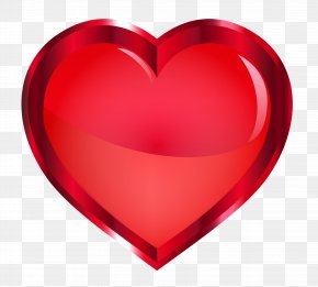 Red Heart - Heart Love PNG