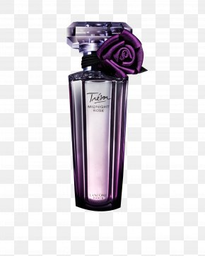 Purple Bottle Of Perfume - Bottle Perfume Packaging And Labeling Designer PNG
