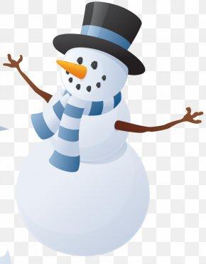 Technology Blue - School Holiday Christmas Santa Claus Clip Art PNG