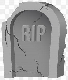 RIP Tombstone And Purple Clipart Image - Headstone Clip Art PNG