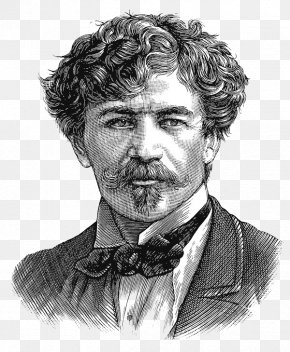 Black And White Curly Uncle Illustrator - Scratchboard Portrait Engraving Behance Illustration PNG