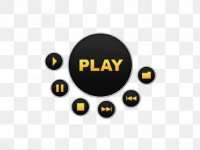 Black Button - Web Button User Interface Icon PNG