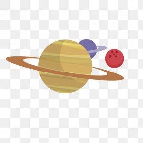 Planet Background - Web Hosting Service Flat Design Cloud Computing PNG