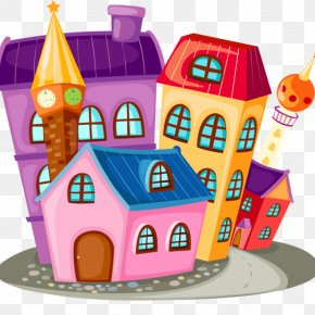 House - House Cartoon Building Clip Art PNG