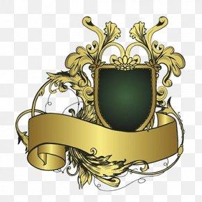 Shield - Ribbon Shield Logo PNG
