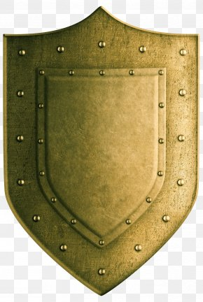 Golden Shield - Shield Coat Of Arms Stock Photography Stock Illustration PNG