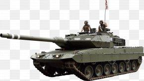 Tank Image Armored Tank - Churchill Tank Self-propelled Artillery Gun Turret Leopard 2E PNG