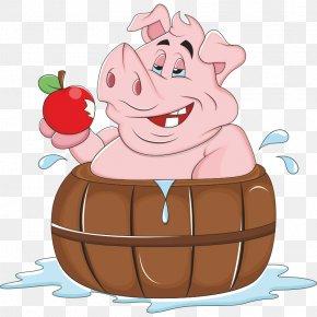 Pig - Domestic Pig Drawing Cartoon Clip Art PNG