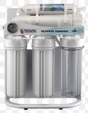 Water - Water Filter Reverse Osmosis Filtration Sur Membrane PNG