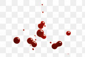 Realistic Drops Of Blood - Blood Drop Stock Photography PNG