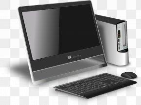 Computer Desktop Pc - Laptop Computer Mouse Desktop Computers Computer Hardware PNG
