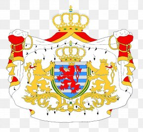 Coat - Luxembourg City Coat Of Arms Of Luxembourg Grand Duke PNG