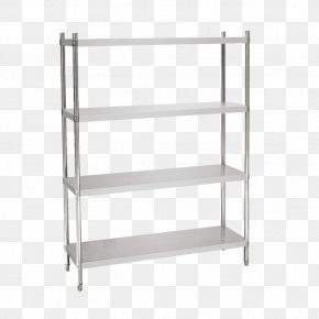 Table - Table Bookcase Stainless Steel Kitchen PNG