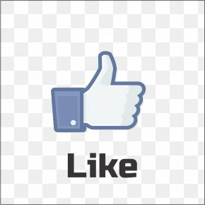 Like Grey Icon - Facebook Social Media Like Button YouTube Social Network Advertising PNG