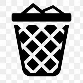 Trash Icon - Rubbish Bins & Waste Paper Baskets Bin Bag PNG