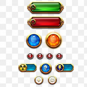 Game Ui - Game Button Jewel Destroyer Graphical User Interface PNG