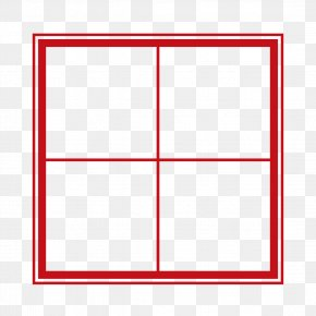Red Field Box - Square Area Angle Pattern PNG