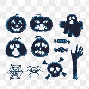 Antique Halloween Vector Elements - Halloween Euclidean Vector Computer File PNG