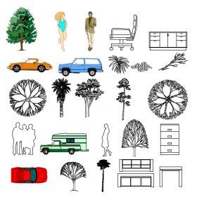 Architecture Symbols Cliparts - Landscape Graphics Architecture Symbol Landscape Design Clip Art PNG