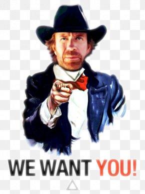 Chuck Norris - Uncle Sam Clip Art PNG