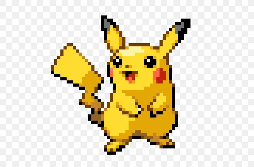 Pikachu Minecraft Ash Ketchum Pixel Art Png 550x540px