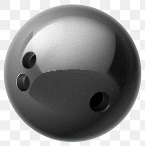Black Bowling - Bowling Ball Clip Art PNG