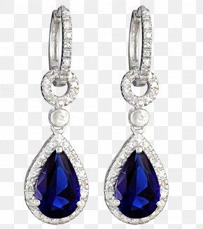 Jewelry - Earring Jewellery Gemstone Diamond PNG