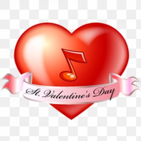 Valentine's Day - Valentine's Day Heart Logo Clip Art PNG