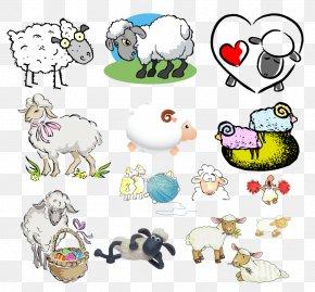 Sheep - Sheep Drawing Clip Art PNG