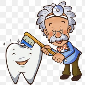 Brush Your Teeth Cartoon - Tooth Brushing Dentistry Human Tooth Gums PNG