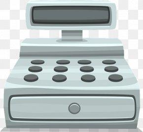 Cash Register - Cash Register Money Retail Clip Art PNG
